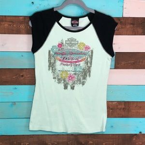 Harley Davidson Diva Factory Tour T Shirt York, PA